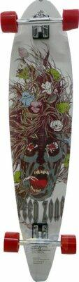Skate Long Board Denis 106CM Skull vrm