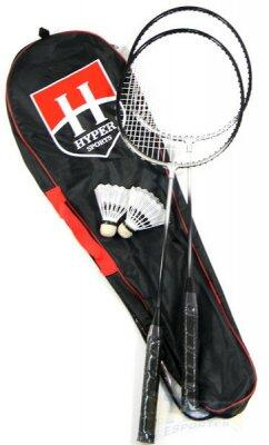 Kit Badminton HYPER sports 2 raquetes