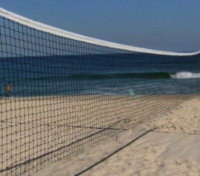 Rede BEACH TENNIS 2mm preto